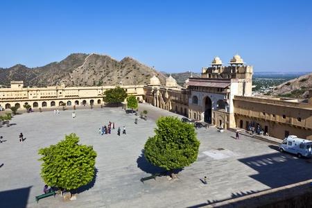 jagmandir: famous Amber Fort in Jaipur Editorial