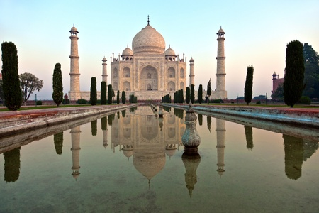 Taj Mahal in India photo