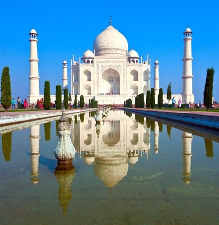 Taj Mahal in India photo