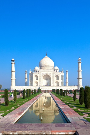 grave site: Taj Mahal in India Stock Photo