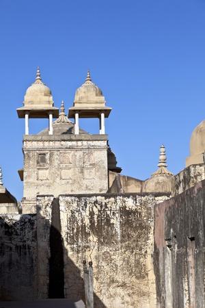 rajput: inside beautiful Amber Fort in Jaiput