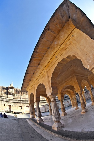amber fort: beautiful Amber fort in Jaipur, India.