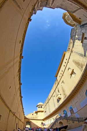 jagmandir: beautiful Amber fort in Jaipur, India.