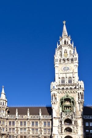 Glockenspiel on the Munich city hall photo
