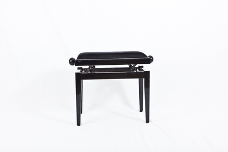forte: isolated piano chair Stock Photo
