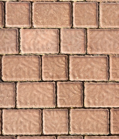 Brick footpath background. photo