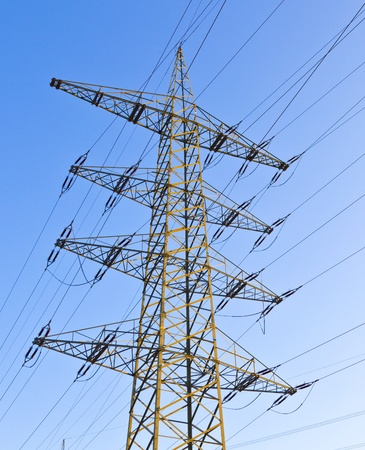 power transmission tower Stock Photo - 12245724
