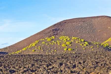 volcano in timanfaya national park in Lanzarote, Spain Stock Photo - 12246997
