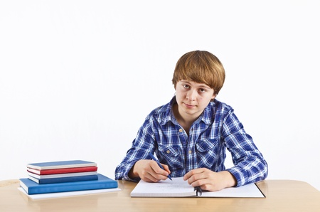 smart boy learning for school Stock Photo - 12597816