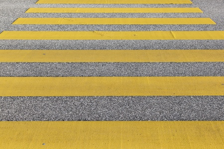 pedestrian crossing in yellow photo