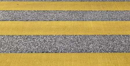 pedestrian crossing in yellow Stock Photo - 12983839
