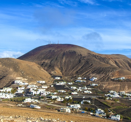 picturesque village of Femes in Lanzarote photo
