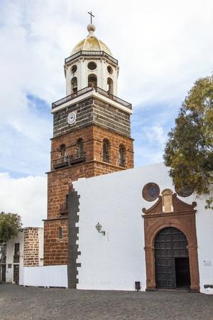 guadalupe island: Teguise, Lanzarote, Canary Island, Church Iglesia de Nuestra Senora de Guadalupe,