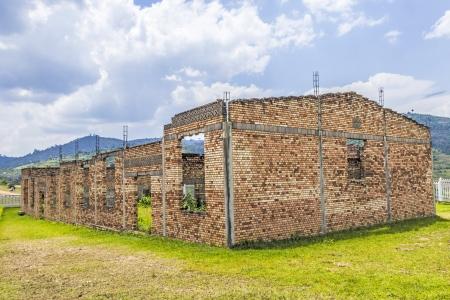 BUTARE, RWANDA - JANUARY 30: massgraves in Butare, Rwanda on January 30,2012. The Rwandan Genocide was the 1994 mass murder of an estimated 800,000 people. Stock Photo - 13668772
