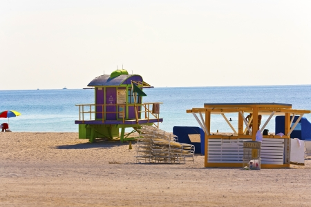 South Beach Miami Lifeguard Tower photo