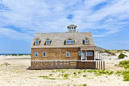 beautiful house in the dunes Stock Photo - 13715439