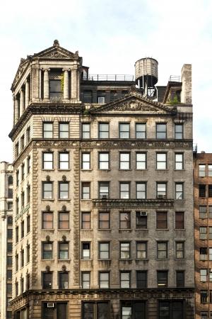 high older brick buildings in New York, Manhattan