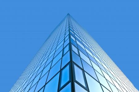 glass facade of Modern skyscraper photo