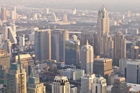 aerial view over Bangkok Stock Photo - 13776119