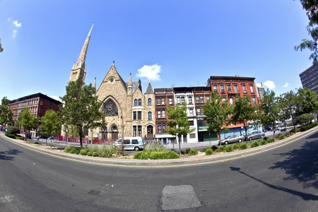 Ephesus Seventh-day church in Harlem, new York Stock Photo - 13761399