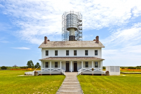 bodie: Bodie Island Lighthouse Being Renovated