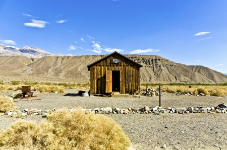 jailhouse: Jailhouse of Ballarat, a ghost town in Inyo County, California  Editorial
