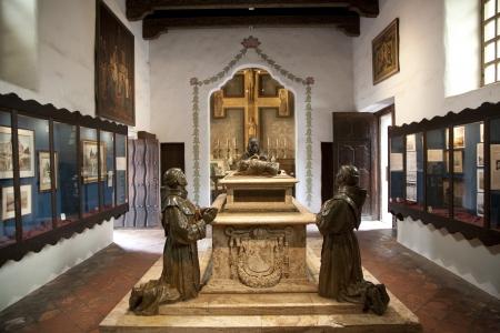 carlos: Carmel Mission San Carlos Borromeo , Carmel, california, interior Editorial