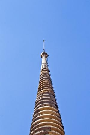 pinnacle: pinnacle of temple in  temple area Wat Phra Si Sanphet, Royal Palace in Ajutthaya