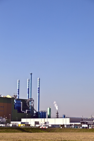 buildings of an Industry Park in beautiful landscape near Frankfurt Stock Photo - 13744029