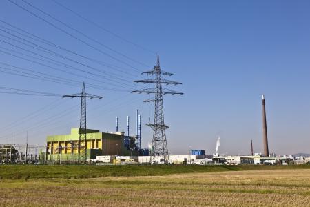 buildings of an Industry Park in beautiful landscape near Frankfurt Stock Photo - 13744043