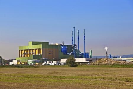 buildings of an Industry Park in beautiful landscape near Frankfurt Stock Photo - 13744037