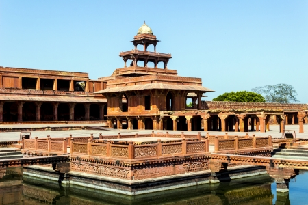 fatehpur: Fatehpur Sikri, India, built by the great Mughal emperor, Akbar beginning in 1570
