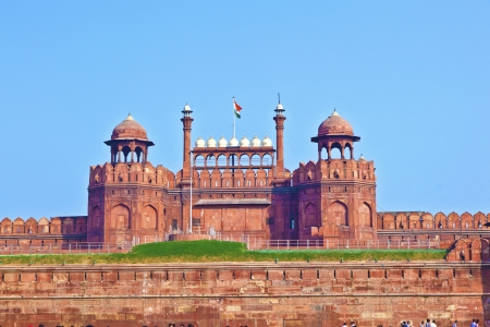 Red Fort in Delhi, India photo