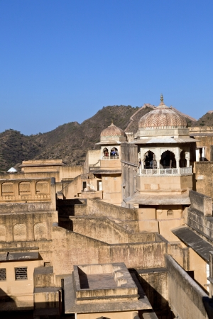 inside beautiful Amber Fort in Jaiput photo