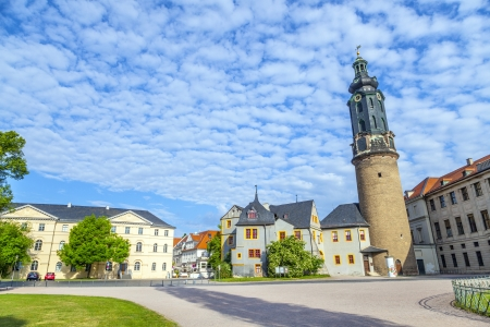 City Castle of Weimar in Germany Stock Photo - 13834021
