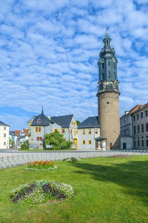 City Castle of Weimar in Germany Stock Photo - 13833965