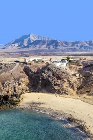 Playa de Papagayo (Parrot's beach) on Lanzarote, Canary islands, Spain Stock Photo - 13942887