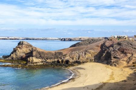 Playa de Papagayo (Parrot's beach) on Lanzarote, Canary islands, Spain Stock Photo - 13942893