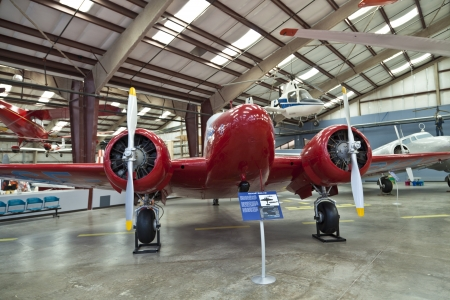 TUSCON, USA - JULY 14: visiting the Pima Air and space Museum at July 14, 2012 in Tuscon, USA. The museum is one of the largest aviation museums in the world and maintains a collection of 700 aircrafts. Stock Photo - 14141970