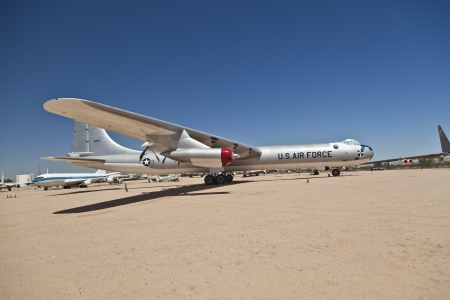 maintains: TUSCON, USA - JULY 14: visiting the Pima Air and space Museum at July 14, 2012 in Tuscon, USA. The museum is one of the largest aviation museums in the world and maintains a collection of 700 aircrafts. Editorial