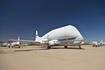 TUSCON, USA - JULY 14: visiting the Pima Air and space Museum at July 14, 2012 in Tuscon, USA. The museum is one of the largest aviation museums in the world and maintains a collection of 700 aircrafts. Stock Photo - 14141969