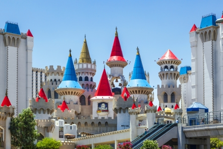 Excalibur Hotel and Casino in Las Vegas, Nevada. Editorial
