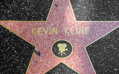 24 26: HOLLYWOOD - JUNE 26:  Kevin Klines star on Hollywood Walk of Fame on June 24, 2012 in Hollywood, California. This star is located on Hollywood Blvd. and is one of 2400 celebrity stars.