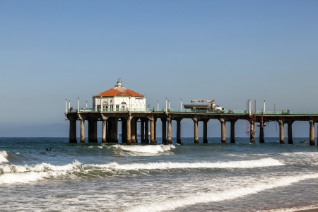 hermosa beach: beautiful Hermosa Beach in California Editorial