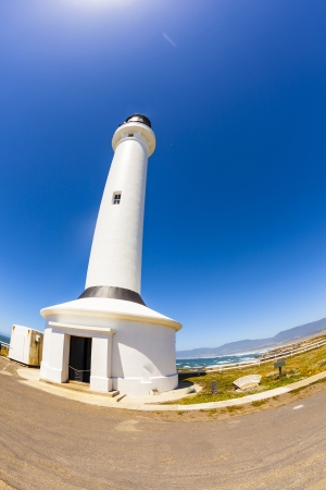 famous Point Arena Lighthouse in California photo