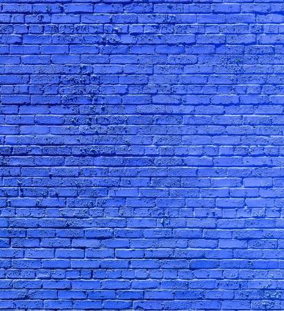 pattern of old historic brick wall in blue Zdjęcie Seryjne