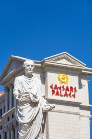 LAS VEGAS, NEVADA - JUNE 15: Caesars Palace on the Vegas Strip in Las Vegas, Nevada on June 15, 2012. This world class hotel opened in 1966, continues to expand and currently has six towers.
