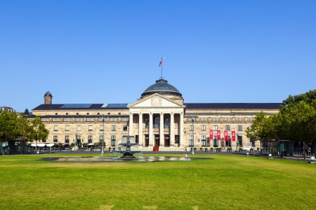 famous historic Casino in Wiesbaden,Germany Stock Photo - 14857897