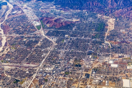 aerial of Los Angeles photo