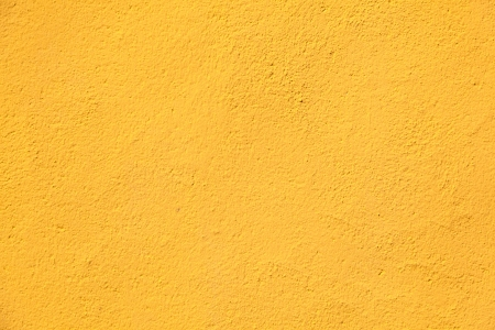 Yellow wall texture for background Stock Photo
